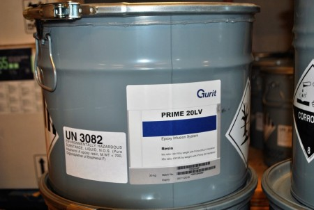 20 kg Epoxy for infustion, PRIME2O LV, F160-049