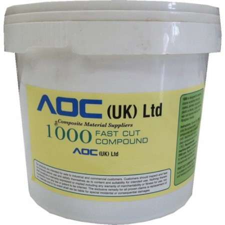 MCTECH. Aqus Buff 1000 FAST CUT COMPOUND (5 KG)