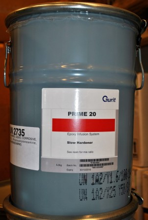 5,2 kg Epoxy herder SLOW for PRIME20 (infusion) for 28030, F160-054